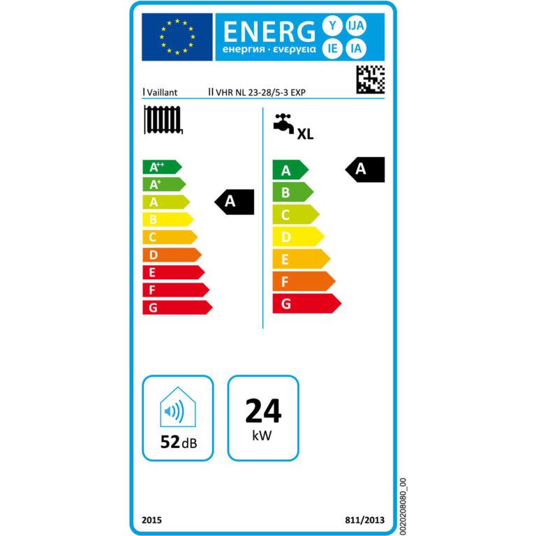 energielabel vaillant ecotec classic