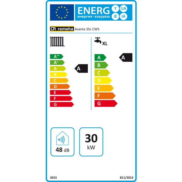energielabel_remeha_avanta-cv-ketel